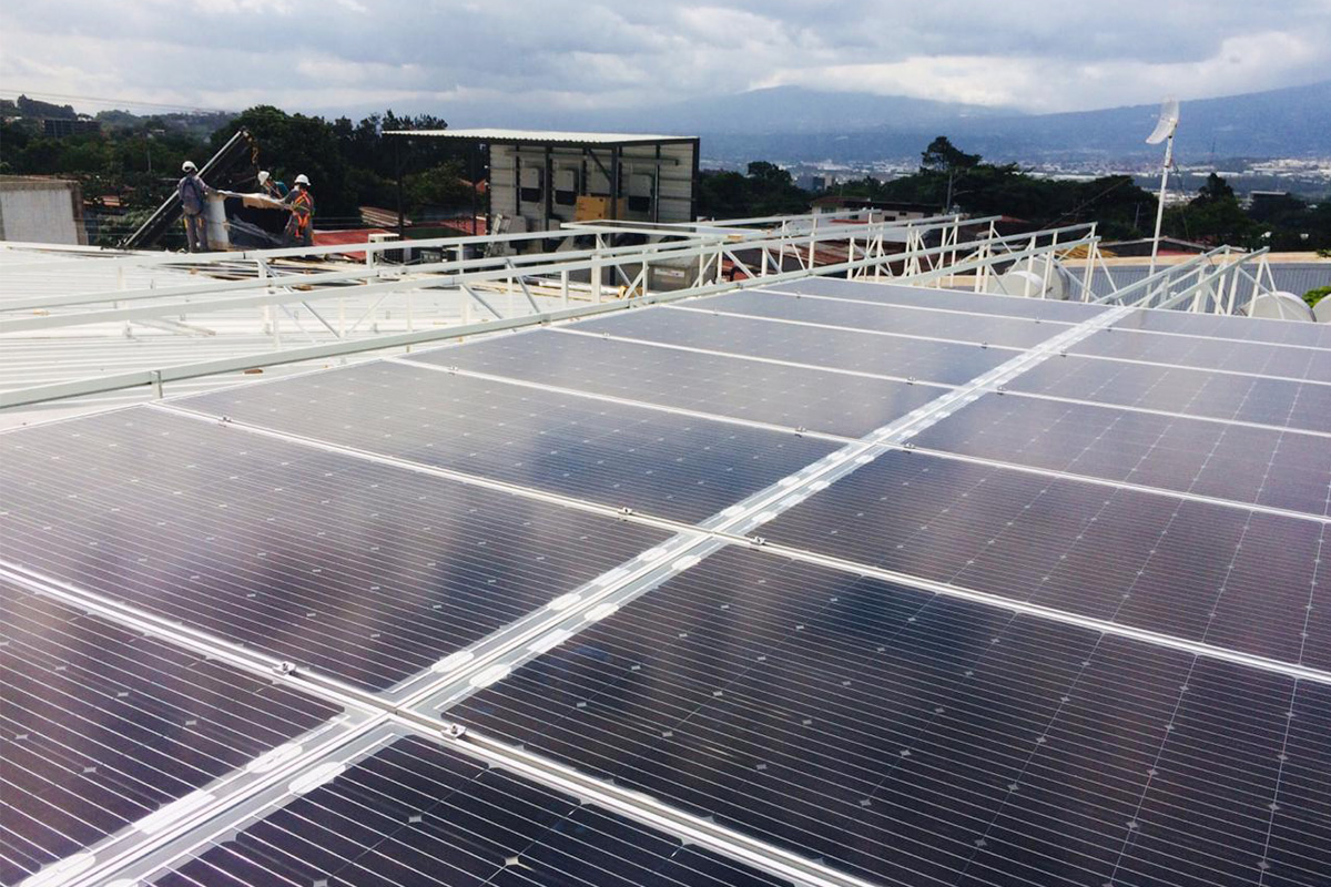 200KW Rooftop Solar Project in Costa Rica