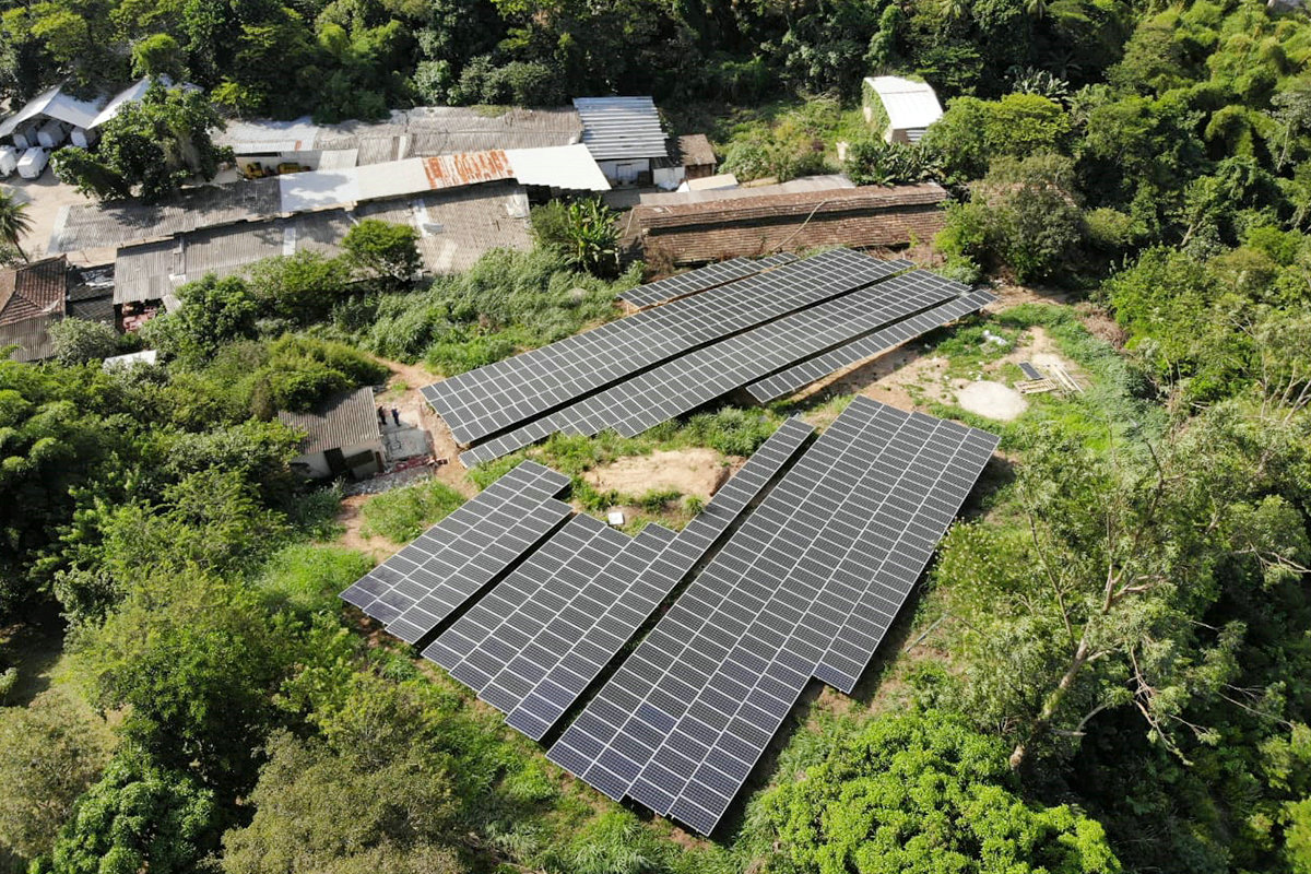 150KW Solar Plant Project in Brazil