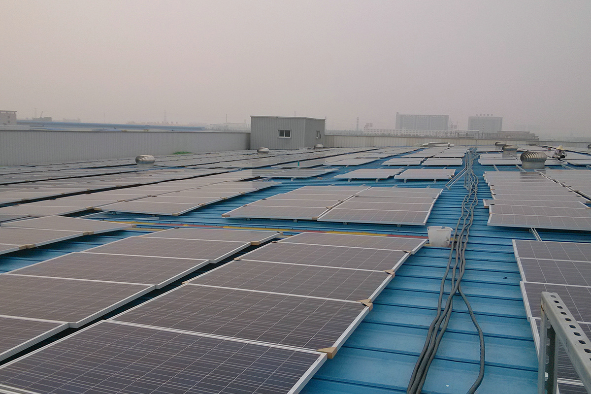 15MW Rooftop PV Power Plant in China