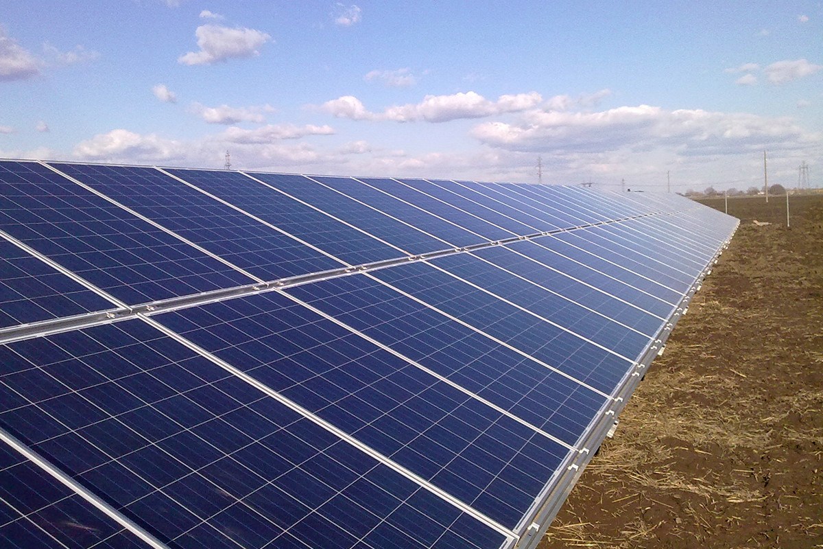 170 KW Solar Plant Project in Bulgaria