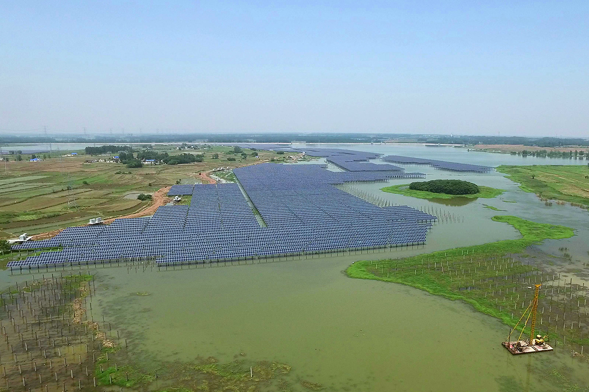 40MW Fishery and PV Complementation Power Station in China